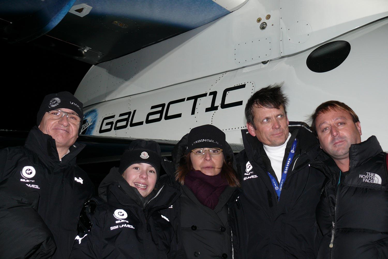 Bru & Bru agencia de viajes, Virgin Galactic unveil, 2009