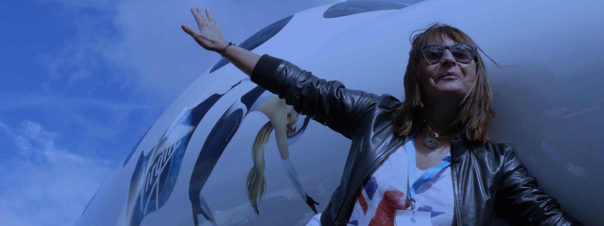 Bru & Bru agencia de viajes exclusivos, Ana Bru volará a la estratosfera con Virgin Galactic